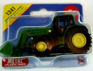 JOHN DEERE with FRONT LOADER Siku 1341  Diecast Metal and Plastic Parts 3+ NEW