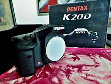 MINT+ Pentax K K20D 14.6MP Digital SLR Camera - Black (Body Only)
