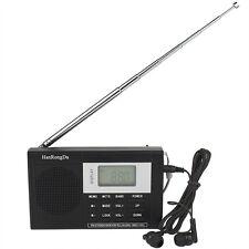 Portable DSP FM Stereo / MW / SW Radio Shortwave Receiver Digital Clock