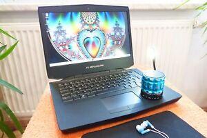Alienware 14 l 14 Zoll l 8GB RAM l AKKU NEU I GeForce GT l WIndows 10 l 500GB i5