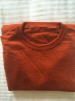 Mens XL John Smedley Jumper 100% Pure New Wool Round Neck. Without Collar Label