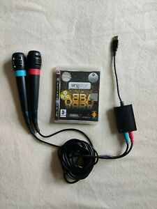 Singstar 2 Microphones and ABBA PS3 Game