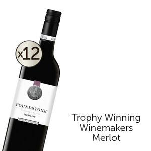Berton Vineyards Foundstone Merlot 2019 Dozen