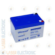 Batteria Professionale al GEL UCG12-12 Ultracell UK 12V VOLT 12A AH Ampere