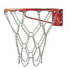 Basketball Hoop Net Heavy Duty Zin Galvanized Steel Chain Weather Proof Standard