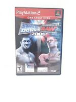 WWE SmackDown vs. Raw 2006 (Sony PlayStation 2, 2005) Greatest Hits CIB Tested