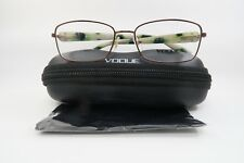 New Vogue VO 3812-B 811 Rose Gold/Green Marble Authentic Eyeglasses 52mm w/Case