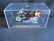Die Cast Model Moto 1:24 ELF-2 HONDA Ron Haslam 1985 [N3-57 ]