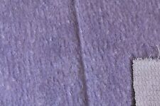 Quality Sparse Pile Mauve/Lilac Mohair with Light Backing.