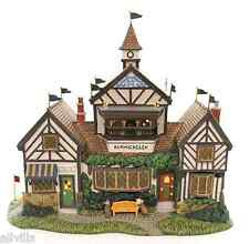 BURWICKGLEN GOLF CLUBHOUSE #58477 NIB DEPT 56 RETIRED DICKENS VILLAGE