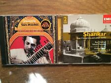 Ravi Shankar [3 cd] Sitar Concertos & other works + SUONI of India