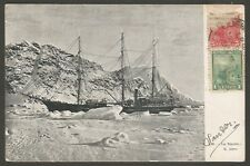 Argentina Postcard S.S Antarctic Nordenskjöld Expedition L@@K