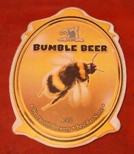 WENTWORTH brewery BUMBLE BEER cask ale badge pump clip front Yorkshire