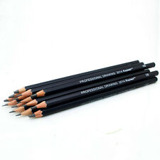 Hot Set Of 14 Sketch Art Drawing Pencil 6H-12B Sketching Charcoal for Artists