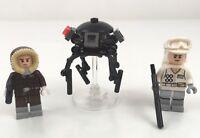 LEGO  Star Wars Battle Of Hoth Minifigure Set Han Solo Trooper Droid