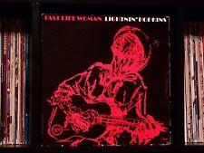 Lightnin' Hopkins ♫ Fast Life Woman ♫ RARE 1962 Verve Records ORIGINAL Mono LP