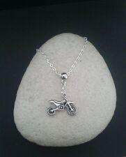 Motocross. Dirt Bike. Motor Bike Necklace