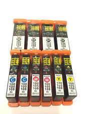 10Pack 100XL Ink Cartridges for Lexmark Prevail Pro705 Prospect Pro205 Printer