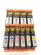 10Pack 100XL Ink Cartridges for Lexmark Prevail Pro705 Prospect Pro205 Printer