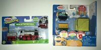 Thomas Friends Merlin The Invisible & Minis Fizz n go Cargo Percy No 6  Combo