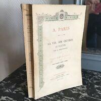ESTIGNARD A. PARIS ADRIEN SA VIE SES OEUVRES SES COLLECTIONS Floury 1902