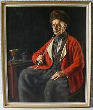 guteWilhelm Gdanietz 1893 - Düsseldorf / großes Hauptwerk / Portrait / Holländer