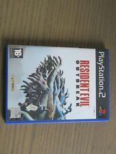 JEU PLAYSTATION 2 PS2 RESIDENT EVIL OUTBREAK ,