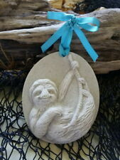 SLOTH  Made with Sand Beach Ornament