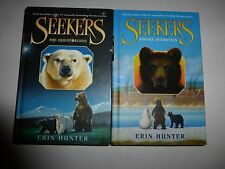 Seekers Series,The Quest Begins 1 & Smoke Mountain by Erin Hunter, HB, NEW B1126