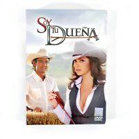Soy Tu Duena (4 Disc DVD Set, 2011) Telenovela New Sealed Gift Stocking Stuffer