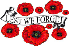 More details for lest we forget red poppy day november 11 remembrance armistice tommy soldier
