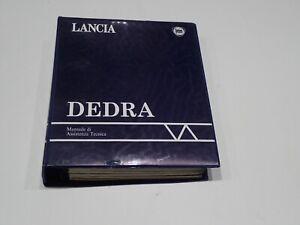 LANCIA DEDRA MANUALE DI ASSISTENZA TECNICA MARZO 1989 (S)