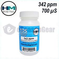HM Digital 342 ppm TDS 700 uS EC Meter/Tester Calibration Solution, 3oz, C342
