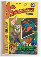 Colour Comics Pty Ltd. All Favourites #88 VG/F 1973 Australian