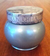 Vintage New Avon Moonlight Lace Perfumed Skin Softener - Vanity Jar 5 oz NOS