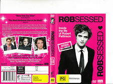 Robsessed-Inside The Life of Robert Pattinson-2010-Biography-DVD