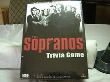CARDINAL SOPRANOS TRIVIA GAME - NEW