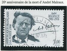 TIMBRE FRANCE OBLITERE N° 3038 ANDRE MALRAUX / Photo non contractuelle