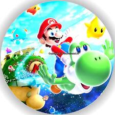 Esspapier Tortenaufleger Tortenbild Geburtstag Super Mario T1  ( w )