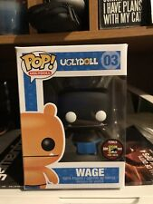 Funko Pop Wage #03  Uglydoll 2011 SDCC Exclusive Limited To Just 480 Pieces!
