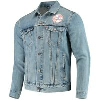 Men's New York Yankees Levi's MLB Patch Trucker Denim Jacket Size: L