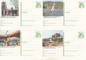 Ganzsache Bildpostkarte  Druckmuster  P 134  Burgen & Schlösser  Lot  25 Karten