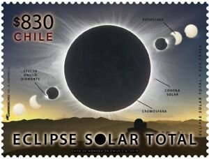 TOTAL SOLAR ECLIPSE, CHILE 2019, MNH