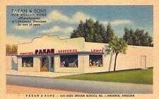 Linen Postcard Pakan & Sons Furniture & Draperies in Phoenix, Arizona~110119