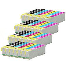 28 Cartouches d'encre (Set + bk) pour Epson Expression Photo XP-750, XP-850, XP-950