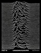 JOY DIVISION Rare 1979 UNKNOWN PLEASURES UK PROMO POSTER From Manager's Archive