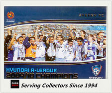 2013 A League Trading Cards Case Card CC1 09/10 A League Champions: Sydney FC