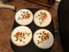 "Vintage Mikasa Natural Beauty C9052 Salad Plates 7 1/4"" Speckled Lot of 4"
