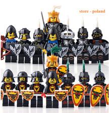 set 16 Pcs Minifigures MOC Lego Castle solider king knights bat Medieval Knights