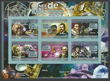 GUINEA 2009 SPACE ASTROLOGY COPERNICUS KEPLER GALILEO SATELLITES IMPERF MNH